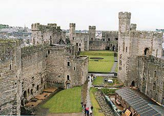 カーナーヴォン城の画像 p1_6